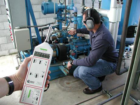 Industrial Hygiene Noise Monitoring at a Large Manufacturing Facility